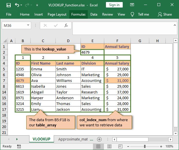 How to use VLOOKUP in Excel